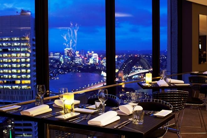 Restaurant Design Sydney The Summit Restaurant a Sydney