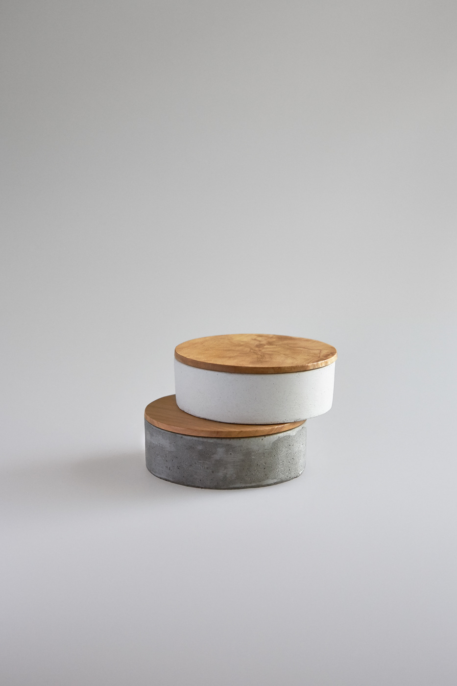 Small Round Concrete Container Studiokyss