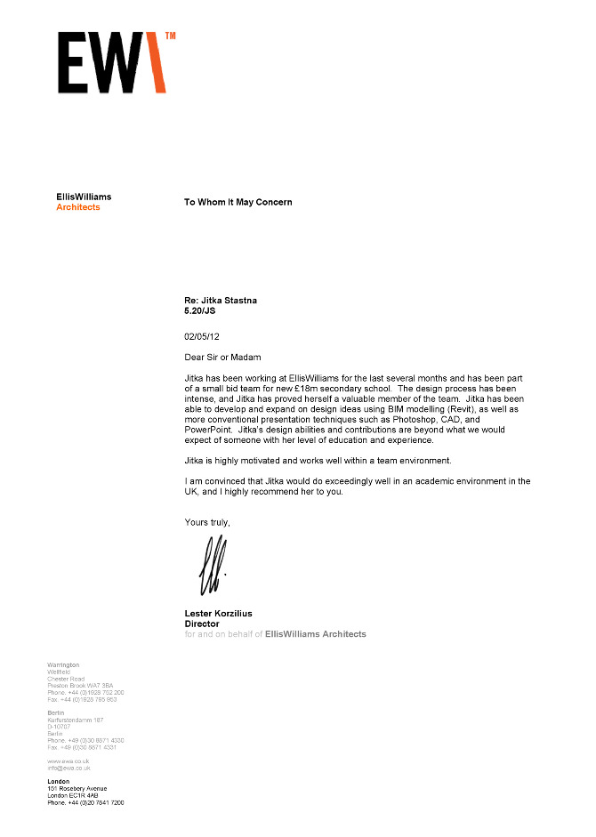 How To Write An Internship Recommendation Letter